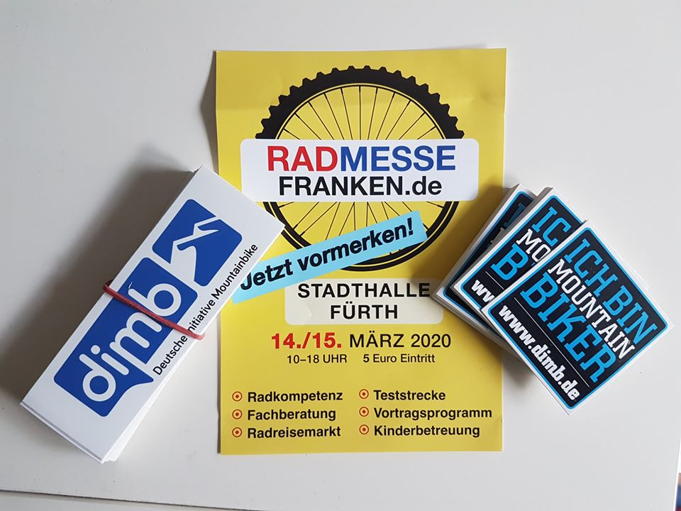 DIMB IG Nürnberg-Fürth auf der Radmesse Franken