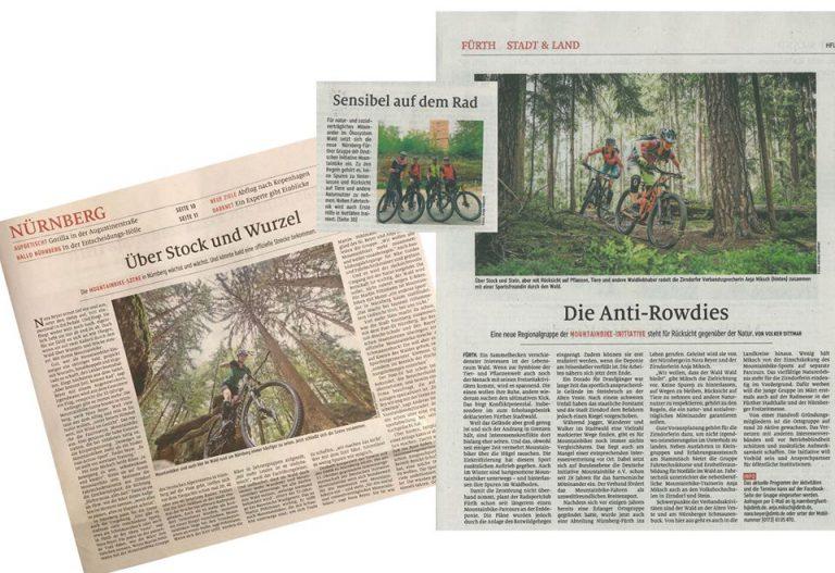 """""""Die Anti-Rowdies"""" – Die DIMB IG Nürnberg-Fürth erneut in der Zeitung!"""