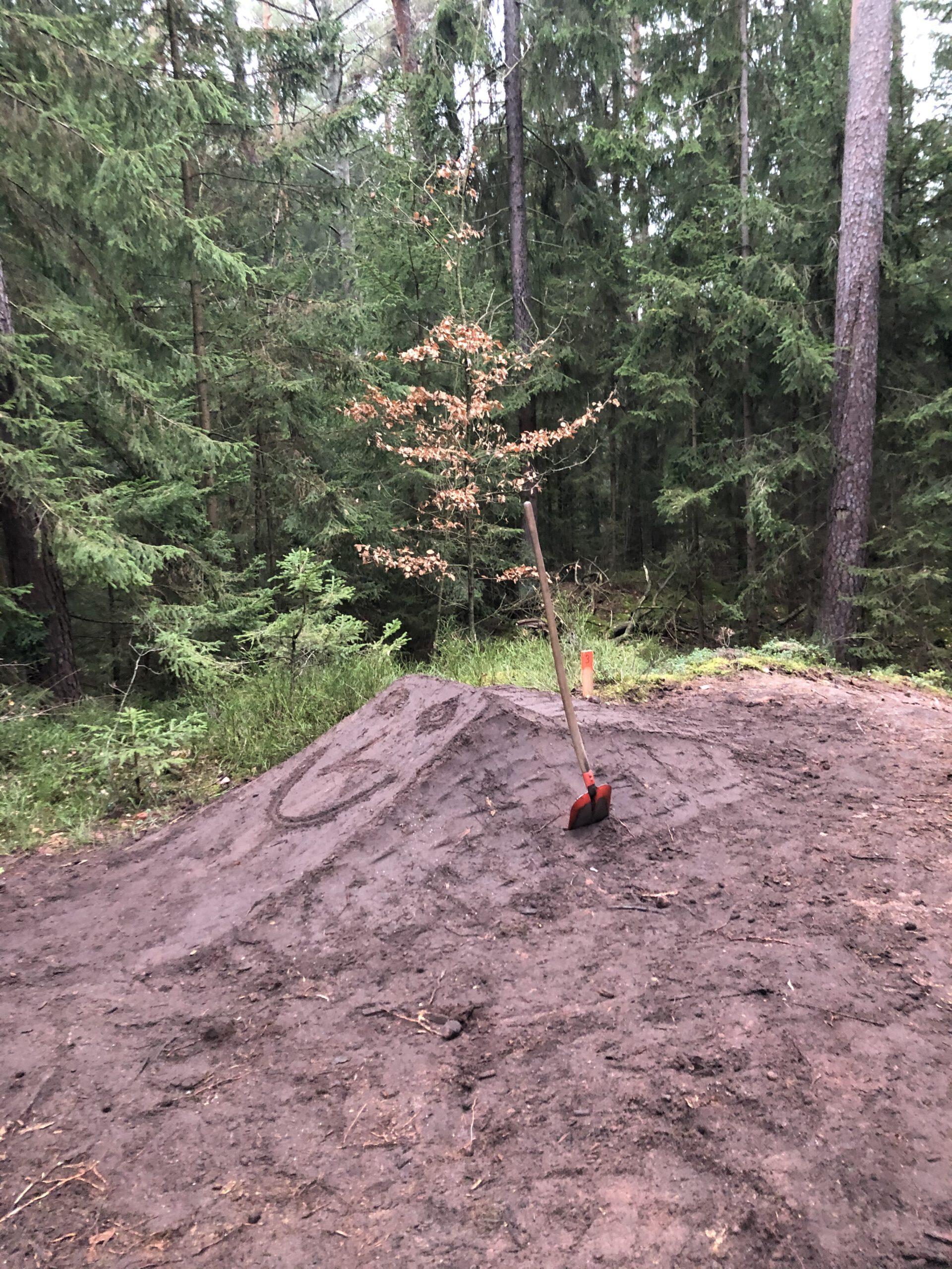 NEWS: Trailbau am Buck schreitet voran