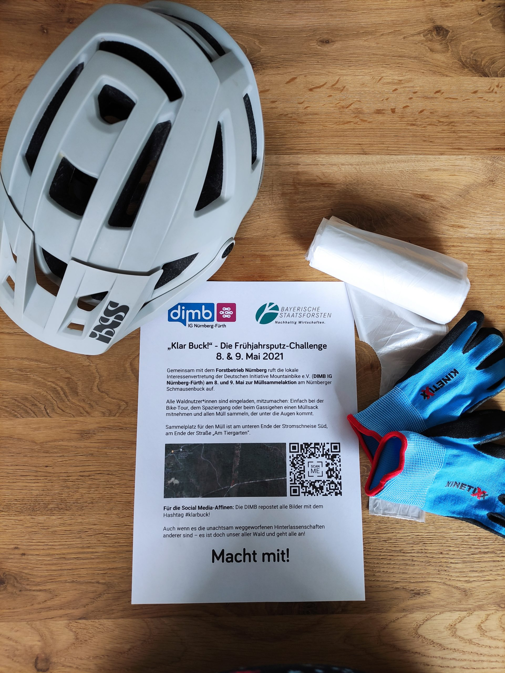 "DIMB ""Klar Buck!"" – Die Früjahrsputz-Challenge feat. Forst & Zabo-Trails!"