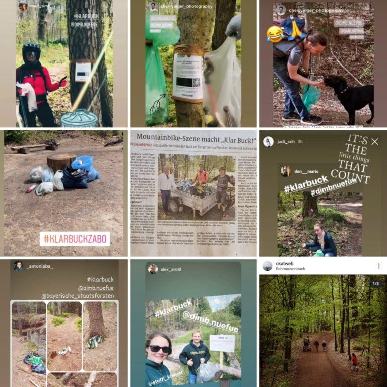"DIMB ""Klar Buck!"" – Die Früjahrsputz-Collage"