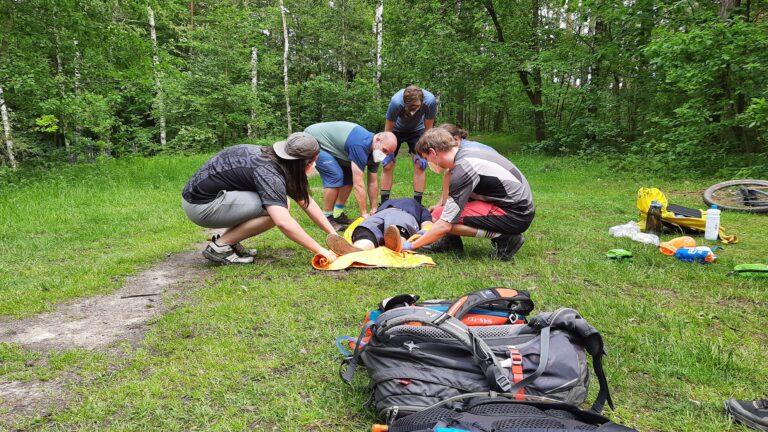 Unser Outdoor-Erste-Hilfe-Kurs in Fürth
